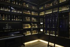 The Whisky Shop flagship store by gpstudio, London store design...(drool)