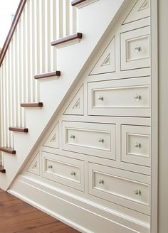 My idea of a perfect staircase--both the look and the functionality