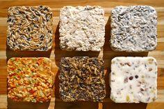 Homemade suet cakes for the birds!