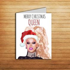 Rupaul Drag Race Card Birthday Gift For Boyfriend Funny Good Luck And Dont Fuck It Up LGBT Congrats Pop Cult Rude Sexy Printable