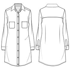 Ofrecemos patrones moldes ropa para bebes, chicos, chicas y uniformes Chemise 7048 DAMA Camisas