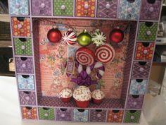 Sugar Plum Advent Calendar - Scrapbook.com