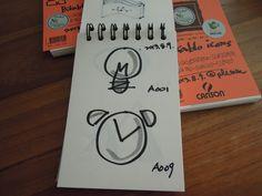 개인화된 Bikablo '비주얼 보카 카드'의 완성본 예시 - drawing