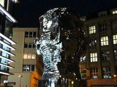 Mechanical head of Franz Kafka, Prague
