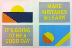 Jack Haslehurst's semaphore-inspired posters