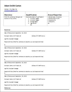 Medical Emergency Information Form Template At HttpWww
