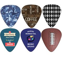 Hero Guitar Picks (12-Pack) - Medium Celluloid - Unique Music Gifts - Assorted Cool Picks Guitar Picks