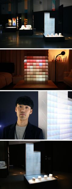 the magic of 'pixel' resides in its simple, electricity-less mechanism that uses reflection to divide light into the stackable modules, resulting in mesmerizing colors and pixelated images. these modules act like building blocks, allowing infinite configurations that can be applied as a self-supporting façade in architecture, or as a room divider in interior applications. 'pixel' works once a light source—natural or artificial—hits its angular structure and starts being reflected and…