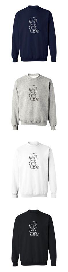 Super Mario Black/Gray New  Sweatshirts with Hoodies Men Brand Logo in Fashion Mens Hoodies and Sweatshirts 3xl
