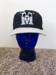 Details about Mickey Mouse Hat VTG 90s Disneyland Cap Vintage 1990s Disney  Snapback Adjustable ba868f3c28a6
