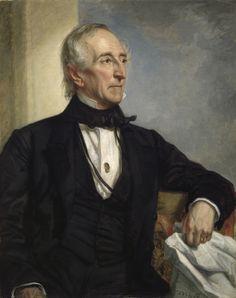 George Peter Alexander Healy, portrait of John Tyler, 1859