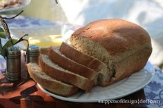 Yummiest Ever Whole Wheat Bread