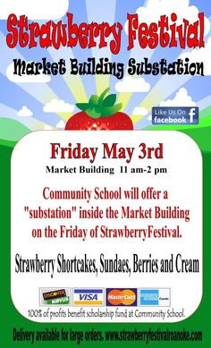 Recommended Events from Promote Commotion: Strawberry Festival Roanoke~May 3, 4