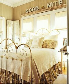 guestroom, decor, bed frames, beds, window, guest bedrooms, dream, iron bed, guest rooms