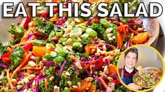 Delicious Vegan Recipes, Raw Food Recipes, New Recipes, Salad Recipes, Vegetarian Recipes, Healthy Recipes, Healthy Dinners, Plant Based Diet, Plant Based Recipes