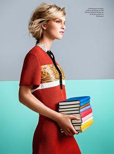 Nicola Haffmans for Vogue Netherlands April 2015