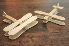 Rainy Day Clothespin Planes : Factory Direct Craft Blog