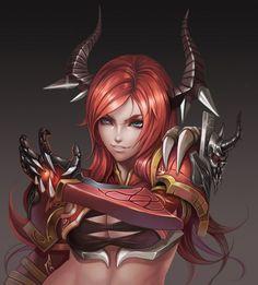 Portrait: Devil Girl
