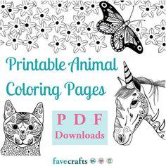 Die 2281 besten Bilder von animal coloring Coloring