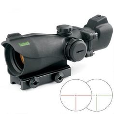 Bushnell 2x MP Tactical Red Dot Sight Illuminated Red and Green T Dot Reticles 1/4 MOA Integral Picatinny Mount Black 730132P - AR73232 - 029757730237