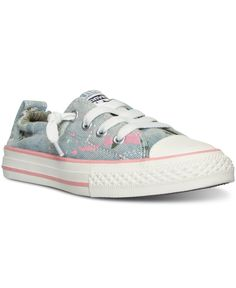 Converse Girls' Chuck Taylor Shoreline Casual Sneakers from Finish Line