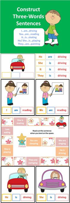 This package aims to teach children how to construct simple three-word…