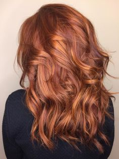 Balayage Red And Caramel
