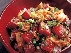 キムチマグロ丼 | 日替りdancyu