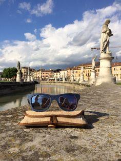 Ecolution ne la plaza.  #raleri #bamboo #sunglasses #eyeswear #eco #fashion #padova #pratodellavalle