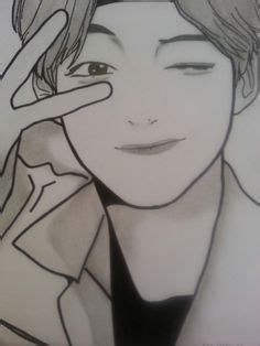 Pencil Sketches Easy, Body Sketches, Kpop Drawings, Art Drawings Sketches Simple, Pencil Art Drawings, Taehyung Fanart, 3d Quilling, Anime Sketch, Anatomy Reference