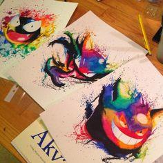 "chubbies-and-pokemon: "" Pokemon art "" Fan Art Pokemon, Pokemon Sketch, Pokemon Tattoo, Art Manga, Anime Art, Rainbow Games, Graffiti Doodles, Cg Art, Geek Art"