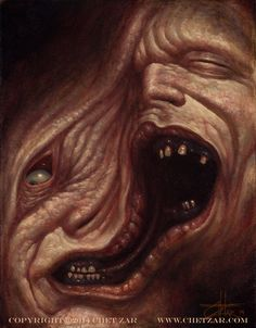 """""""THE THING"""" - OIL ON CANVAS, Chet Zar"""