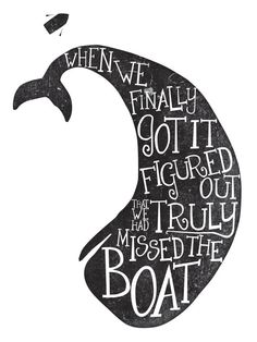 Modest Mouse // Missed the Boat // Lyric Art by #wildvoz