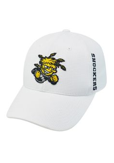 Wichita State Shockers Top of the World White  Flex Hat http://www.rallyhouse.com/shop/top-of-the-world-wichita-state-shockers-booster-plus-white-flex-hat-14400581?utm_source=pinterest&utm_medium=social&utm_campaign=Pinterest-WSUShockers $24.99
