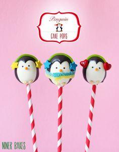 pops how to make {Anleitung} Wie mache ich zuckersüße Pinguin Cake Pops Christmas Cake Pops, Christmas Desserts, Christmas Treats, Holiday Treats, Cupcakes, Cupcake Cakes, Penguin Birthday, Penguin Party, Cake Pop Tutorial