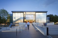Image 1 of 24 from gallery of Topfer Theatre at ZACH / Andersson Wise Architects. Photograph by Andrew Pogue