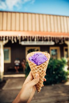 Hawaii Travel Bucket List: Eat Purple Sweet Potato Icecream in Molokai. More Hawaii travel ideas on our site www.ourgoodadventure.com