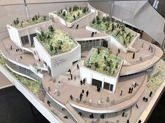 「平田晃久」の画像検索結果 Architecture Model Making, Residential Architecture, Landscape Architecture, Architecture Design, Commercial Landscape Design, Presentation Board Design, Mix Use Building, Urban Agriculture, Arch Model