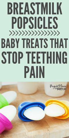 Breast Milk Popsicles for Teething Babies - Pregnant Mama Baby Life Baby Popsicles, Smoothie Popsicles, Breastfeeding Problems, Breastfeeding And Pumping, Teething Baby Relief, Teething Babies, Baby Bug, Mama Baby, Lactation Recipes