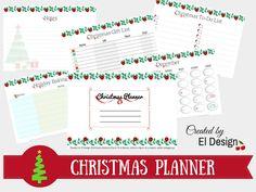 Εκτυπώσιμο Christmas Planner [ΔΩΡΕΑΝ] Christmas Planner Free, Christmas To Do List, Christmas Printables, Christmas Gifts, Christmas Inspiration, Celebrations, Magazine, Blog, Design