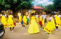 African Traditional Wear, African Traditional Wedding Dress, Traditional Wedding Attire, Traditional Weddings, Tsonga Traditional Dresses, African Wedding Attire, Zulu, Weeding, Wedding Bells