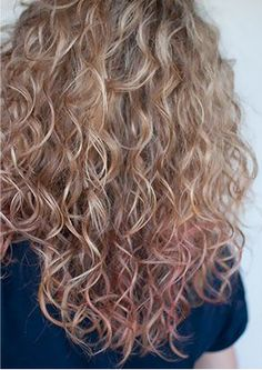 Kind of Body Wave Perm I DO NOT want. Ends need to be more straight. Less frizz curl more beachy waves