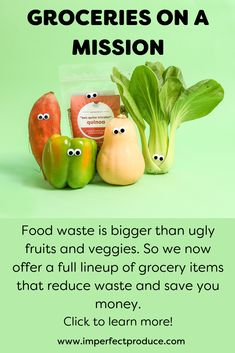 Imperfect delivers ugly, organic produce for about less than grocery store prices. Based in San Francisco, we deliver organic produce boxes to cities across the nation. Try Imperfect Produce fruit and vegetable delivery service today! Grocery Items, Grocery Store, Fruit And Veg, Fruits And Veggies, Grocery Delivery Service, Food System, Reduce Waste, Summer Fruit, Yummy Snacks