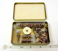 Operation Tackle That Bead Stash! Great travel kit