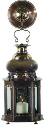 Venetian-Solid-Brass-Candle-Lantern-Completely-Hand-Made-17th-Century-Style