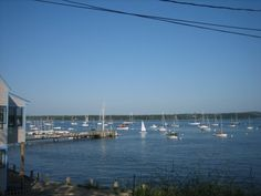 Castine Yacht Club, I will either be married here or Camden Yacht Club