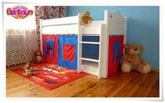 Znalezione obrazy dla zapytania łóżko piętrowe z domkiem Toddler Bed, Furniture, Home Decor, Child Bed, Decoration Home, Room Decor, Home Furnishings, Home Interior Design, Home Decoration