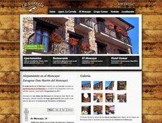 Apartamentos en el Moncayo - La Corrala http://www.alojamientoslacorrala.es/ #web #turismo #Moncayo #Zaragoza