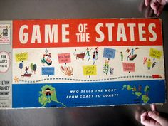 Game of the States, Milton Bradley, 1960