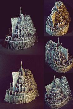 Minas Tirith, 3d Printing, Crown, Prints, Jewelry, Impression 3d, Corona, Jewlery, Jewerly